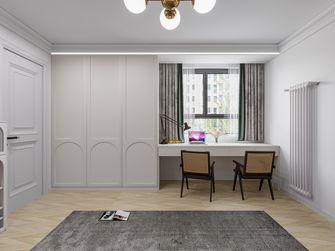 富裕型100平米法式风格书房设计图