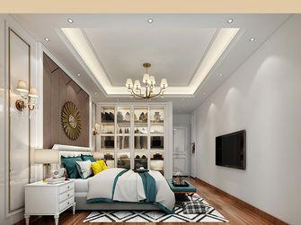 富裕型140平米别墅欧式风格卧室设计图