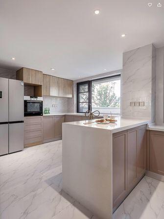 110平米三室两厅欧式风格厨房图
