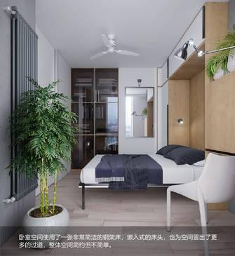15-20万90平米三室两厅北欧风格卧室装修案例