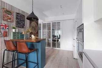 豪华型90平米田园风格厨房设计图