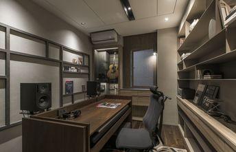 90平米三室两厅现代简约风格影音室图片
