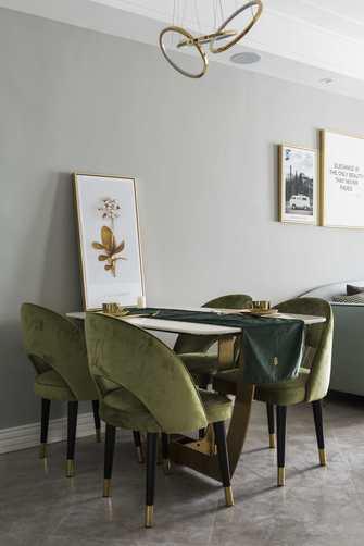 富裕型90平米三室两厅现代简约风格其他区域装修案例