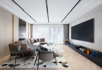 140平米公寓轻奢风格客厅欣赏图