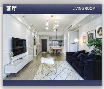 15-20万100平米美式风格客厅装修案例