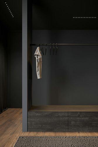 经济型140平米三室两厅现代简约风格衣帽间图片
