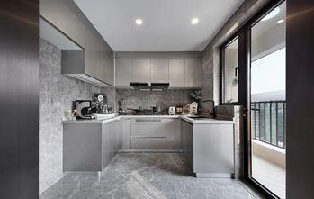 120平米三室一厅现代简约风格厨房图片