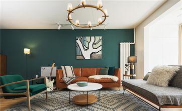 富裕型100平米三室一厅北欧风格客厅设计图