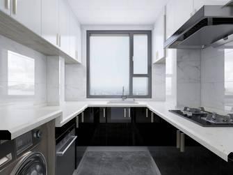 经济型110平米三室三厅轻奢风格厨房图片