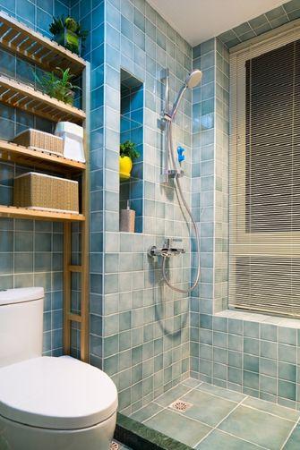 5-10万100平米三室一厅混搭风格卫生间设计图
