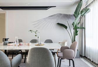 富裕型140平米四室两厅北欧风格餐厅图