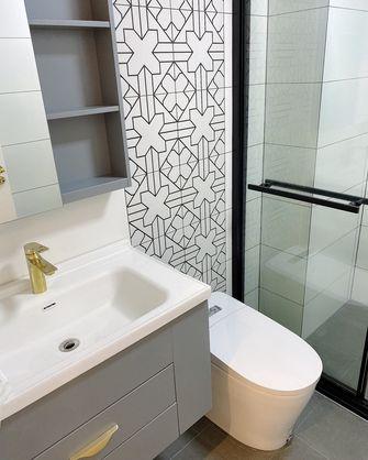 经济型100平米三室两厅现代简约风格卫生间装修效果图