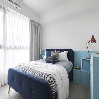 10-15万120平米三室两厅北欧风格卧室图片