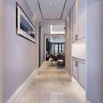 富裕型110平米三室两厅中式风格玄关装修效果图