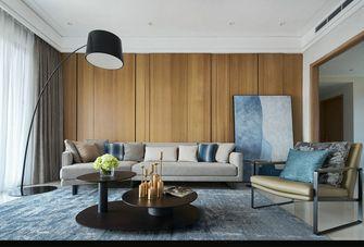 豪华型140平米三室两厅欧式风格客厅图片大全