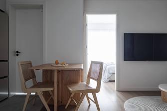 120平米三室三厅日式风格餐厅装修效果图