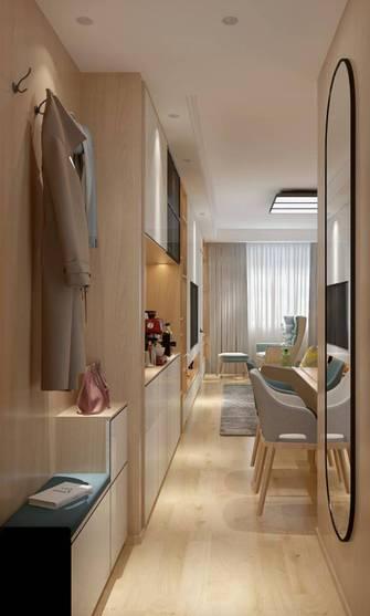 20万以上80平米三室一厅北欧风格玄关装修效果图