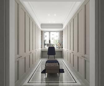 豪华型130平米三室两厅美式风格衣帽间装修案例