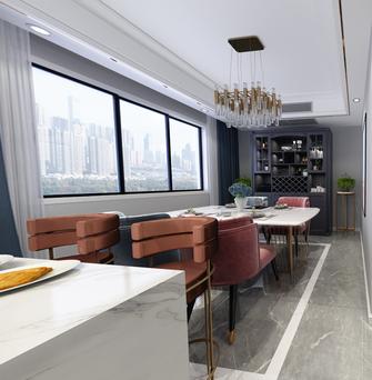 豪华型120平米四室两厅美式风格餐厅图片