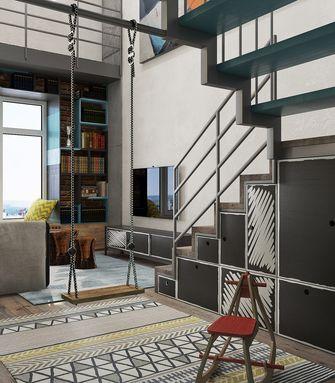 豪华型70平米复式英伦风格客厅装修图片大全