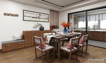 10-15万110平米四中式风格餐厅图片