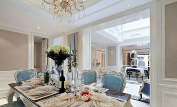 豪华型140平米复式欧式风格餐厅图