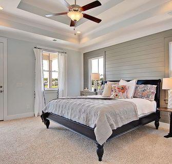 10-15万100平米三室两厅美式风格卧室图片大全