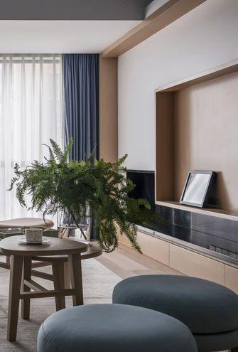 50平米一室一厅日式风格客厅效果图