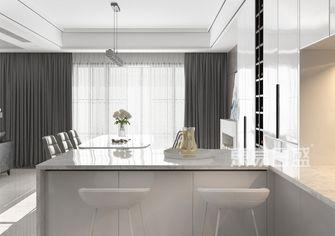 豪华型140平米复式现代简约风格餐厅图片大全