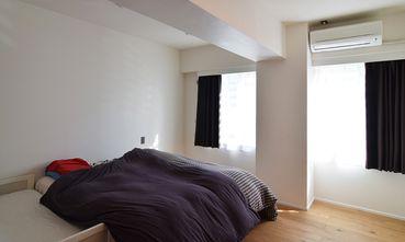 经济型100平米三室一厅日式风格客厅图