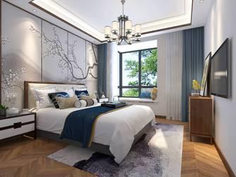 20万以上120平米三室两厅中式风格卧室图片大全