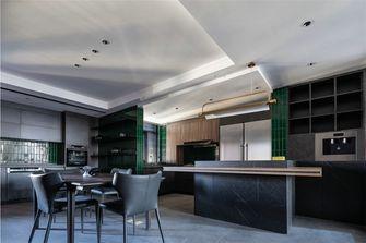 富裕型140平米四现代简约风格餐厅图
