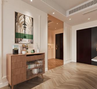 富裕型100平米三室两厅法式风格玄关效果图