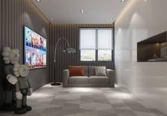 15-20万140平米三室一厅现代简约风格影音室设计图