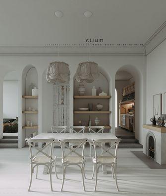 豪华型公寓混搭风格餐厅设计图