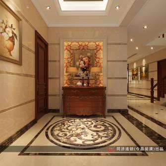 富裕型140平米别墅美式风格走廊欣赏图