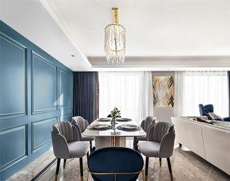 豪华型140平米复式美式风格餐厅装修案例