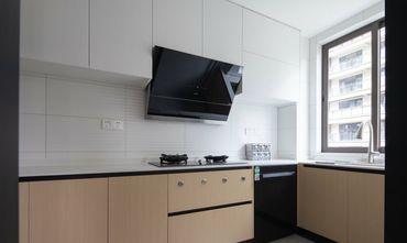 15-20万90平米三室一厅现代简约风格厨房欣赏图