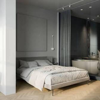 50平米公寓田园风格卧室设计图