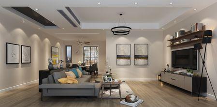 20万以上100平米别墅现代简约风格客厅欣赏图