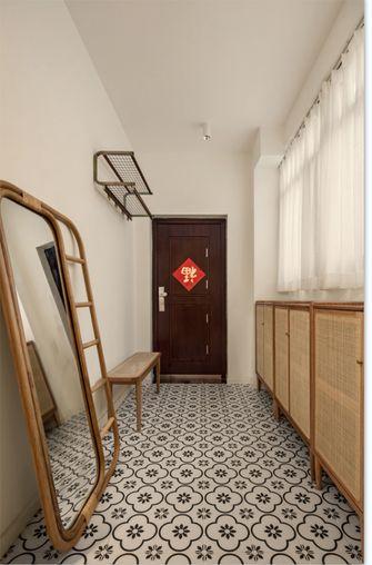 5-10万90平米三室两厅混搭风格玄关装修效果图
