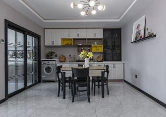 10-15万120平米三室两厅北欧风格餐厅装修案例