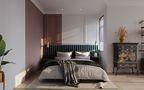 80平米公寓轻奢风格客厅设计图