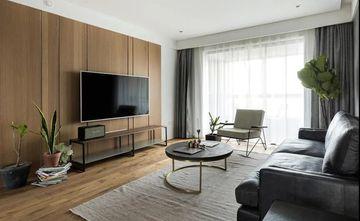 20万以上120平米三室一厅北欧风格客厅图
