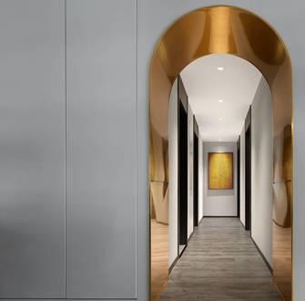 富裕型140平米三室两厅轻奢风格走廊装修效果图