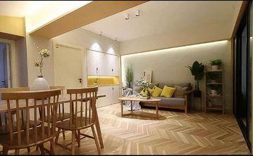 经济型90平米三室两厅北欧风格客厅图片