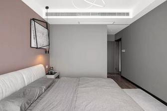 110平米三室两厅轻奢风格卧室装修图片大全