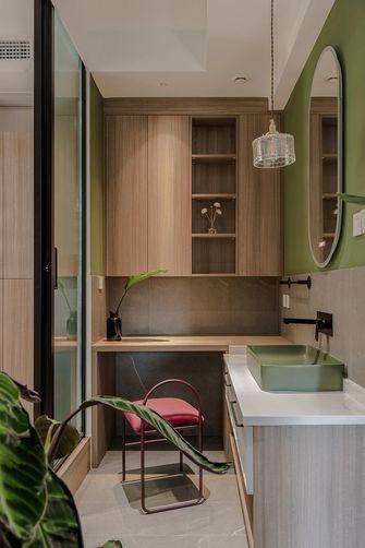 豪华型140平米三室两厅混搭风格卫生间装修图片大全