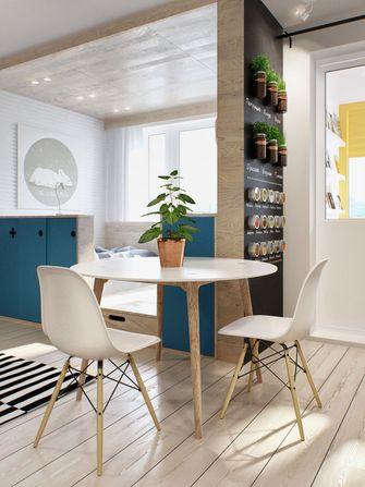 经济型30平米超小户型北欧风格餐厅图片