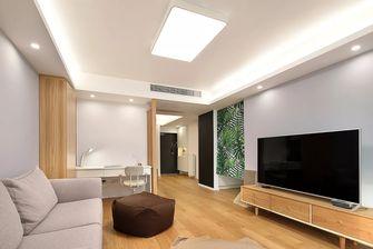 豪华型140平米三室三厅日式风格客厅设计图